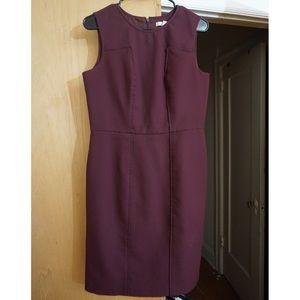 Banana Republic Burgundy Size 10 Dress